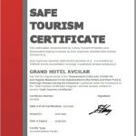 istanbul safe tourism certificate
